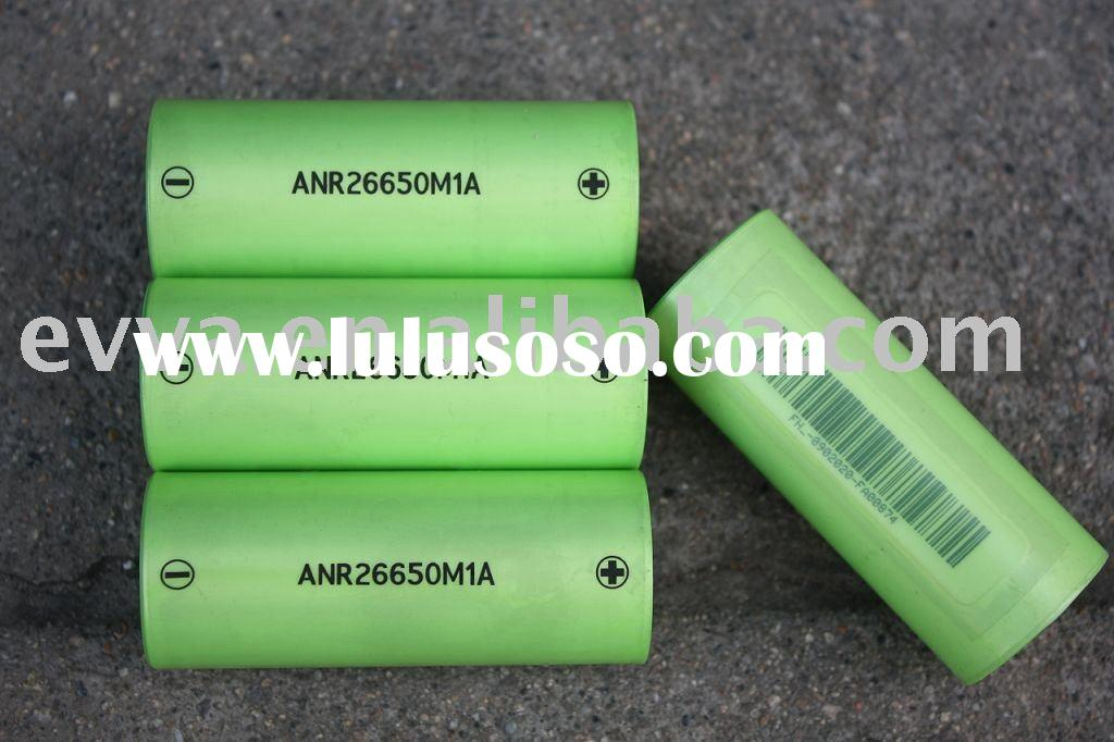A123 Systems 26650 Battery cell ANR26650M1A 2300mAh