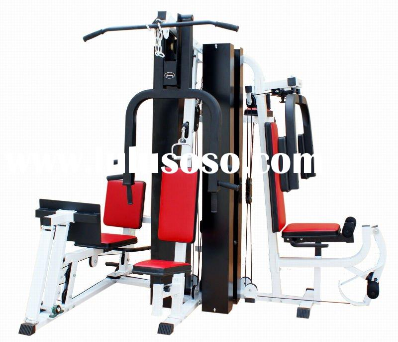 Three station home gym with 50kg weight stack tf 1003 for for Cost of building a gym