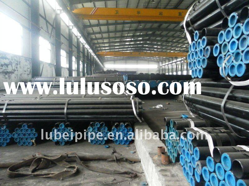 ASTM A106 GR.B/ASTM A53 GR.B/API 5L SCH40/SCH80 Seamless steel pipe