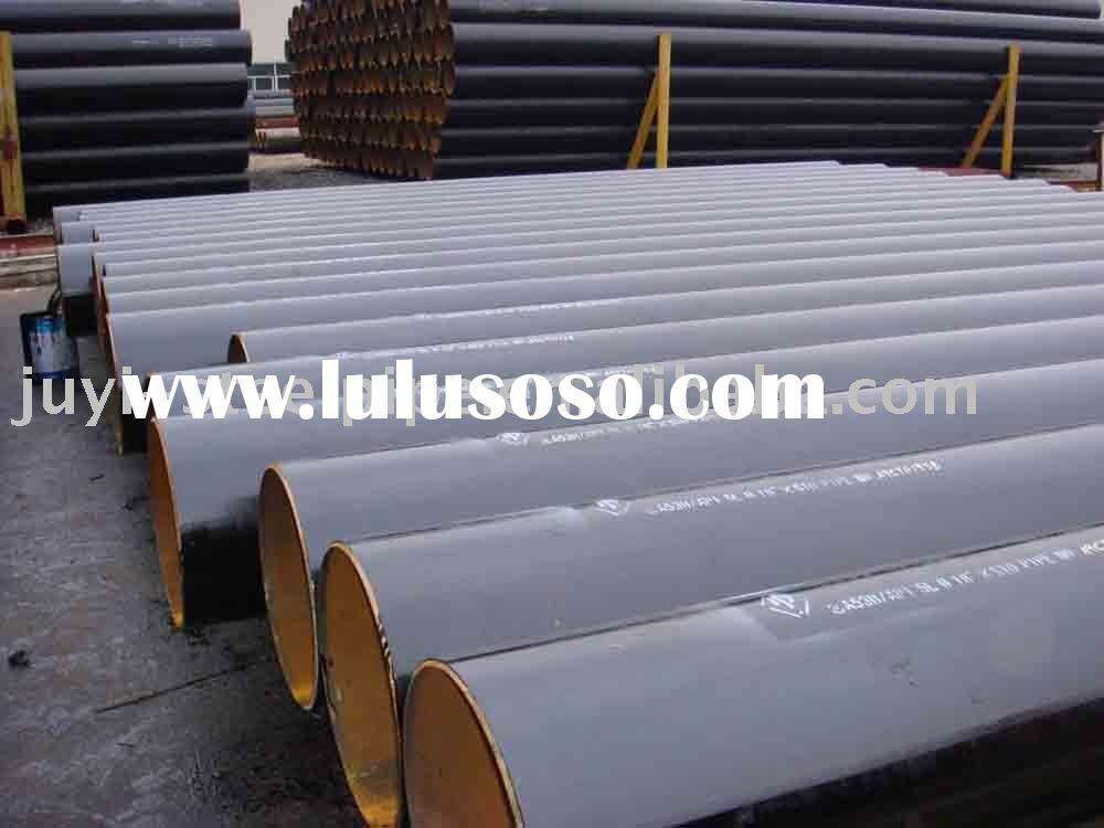 ASTM A53 B sch80 carbon ERW steel pipes