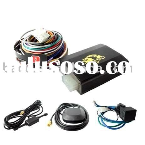 Accurate vehicle gps tracker with Dual sim card, motion shaking sesonr