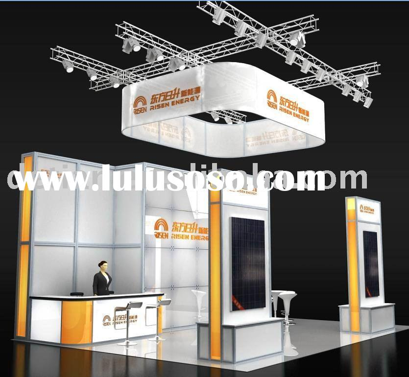 Exhibition Booth Price : Modular aluminum extrusion for exhibition booth sale