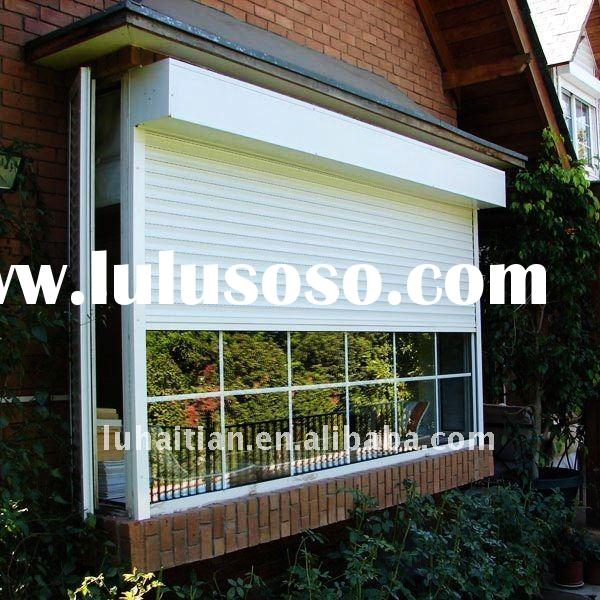 Aluminum security curtain for your window