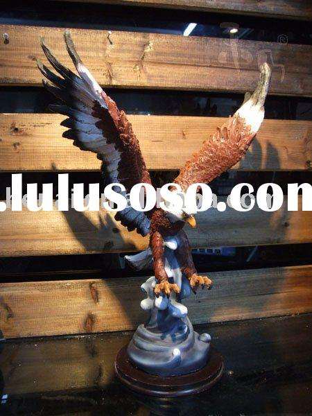 Animal eagle ornaments of resin craft HN-E003B