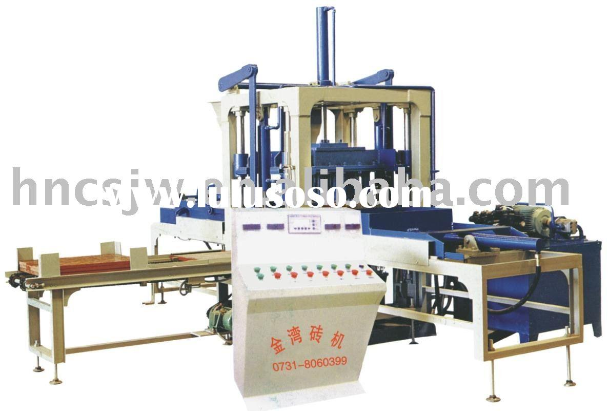 Automatic Paver Block Machine.