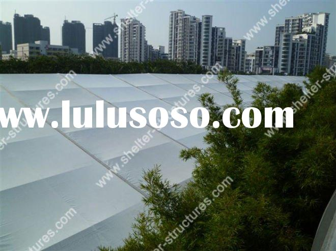 BIG INDUSTRIAL TENT,STORAGE TENT,PVC WHITE ROOF INDUCTRIAL TENT