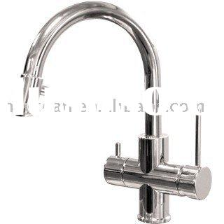 BRASS TRI-FLOW TAPS(HOT/COLD/PURE WATER) F-3002
