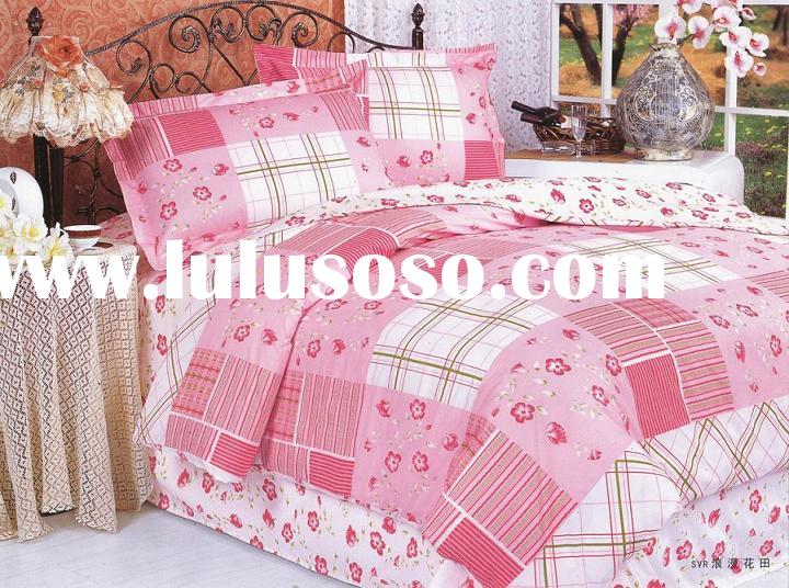 Bedding Set - Romantic colored field/quilt/bedspread/sheet