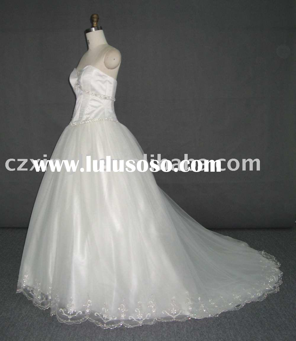 Best Selling Wedding Dresses FW1053 in stock