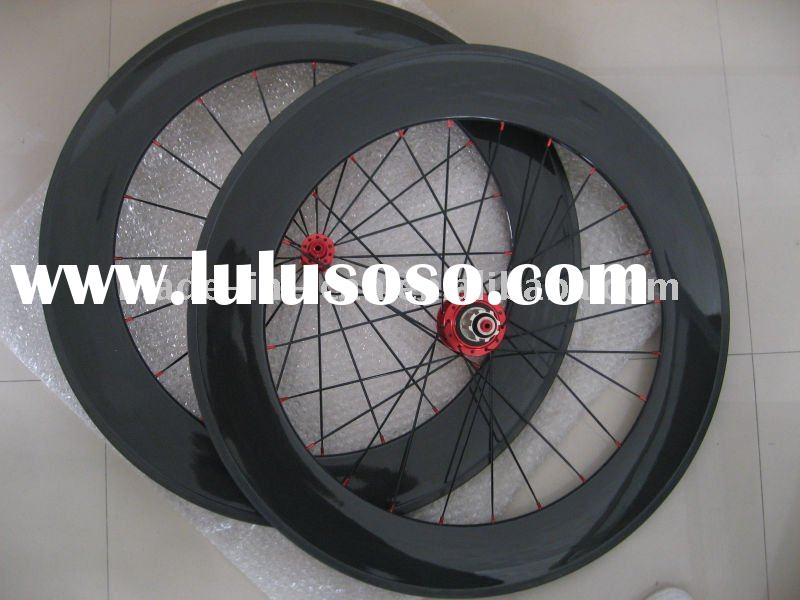 Bicycle wheels road clincher wheels carbon fiber bike frames