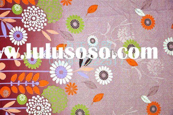 Brushed Printed Polyester Mattress Cloth