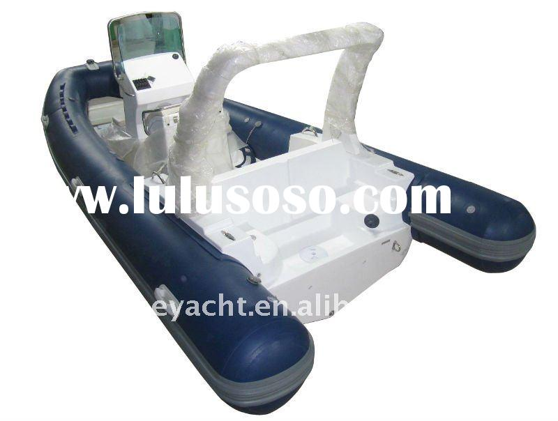 CE cert. Rib 580 Hypalon Inflatable Boat with Console & Seat