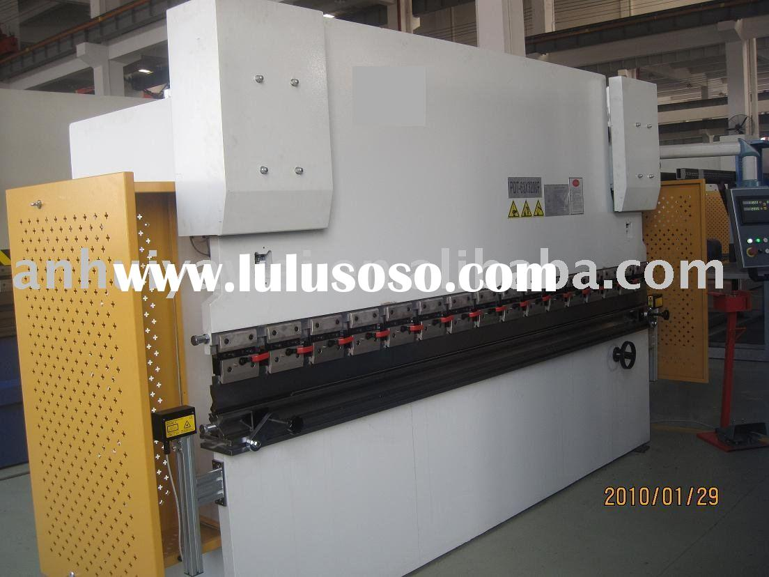 CNC hydraulic press brake with 3+1 axes control WC67K-200T4000