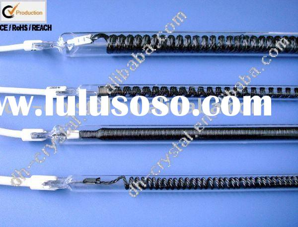 Carbon fiber quartz heating tube 123