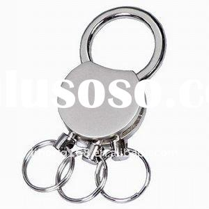 Cheap & hot selling Promotion metal key ring with logo