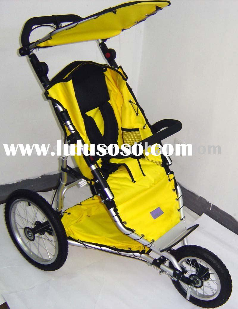 China baby stroller jogger EN1888 AS/NZS2088 ASTM F833 Aluminum frame air tyre 3 big wheel