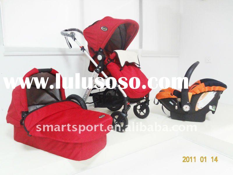 China travel system stroller pram pushchair with car seat EN1888