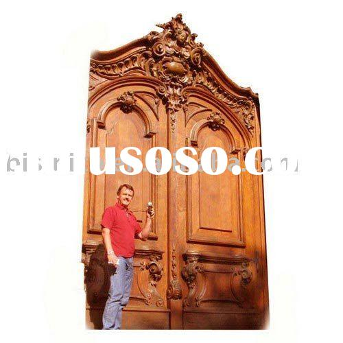 Classic hand carved solid wood door,wooden door,interior and exterior door