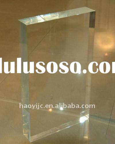 Clear Acrylic(PMMA) Sheet for Advertising Panel / Board
