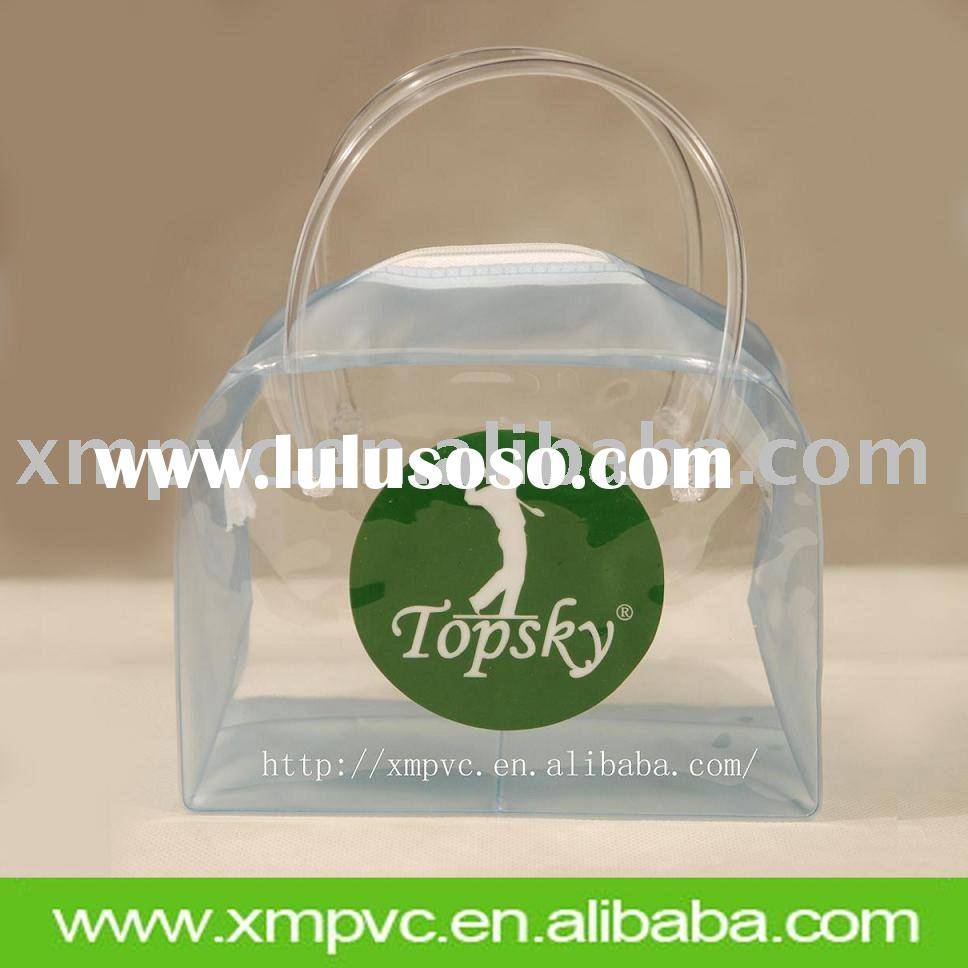 Clear pvc packaging bag for cosmetic XYL-C009