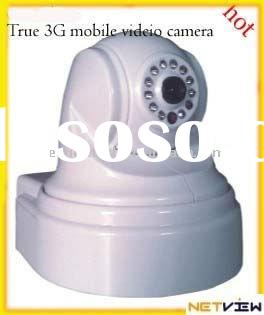 Complete 3G Mobile Video Surveillance Wifi IP camera
