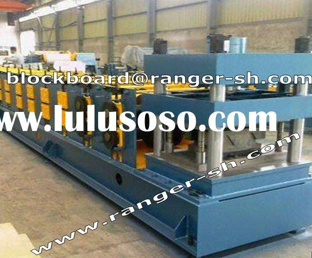 Crash Barrier Forming Machine For Steel Construction Material