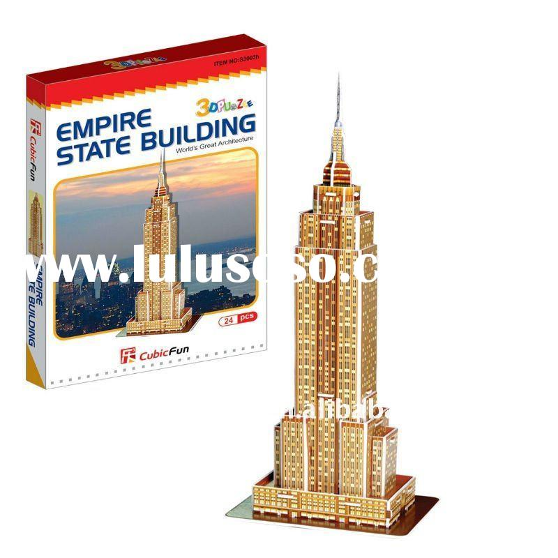 Cubic Fun Mini Empire State Building Puzzles