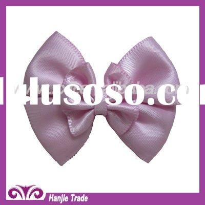 Custom Basic Grosgrain Ribbon Satin Hair Bow