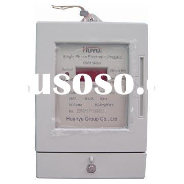 DDSY881 electronic single-phase prepayment energy meter