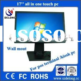 DL 17 inch tft lcd touch panel pc for industrial /computer/kiosk/pos