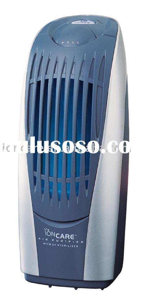 Desktop and Car Ionic Air Purifier with UV Sterilizing Lamp