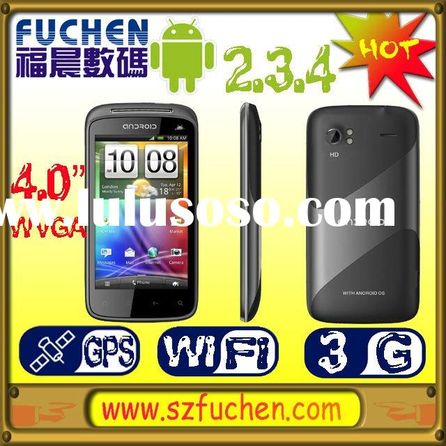 """Double sim card smartphone with Android 2.3.4,MTK6573, 3.75G WCDMA/GSM, 4.0"""" WVGA Caps.LCD,supp"""