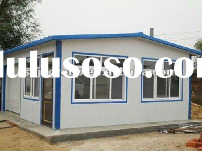 Double-slop Prefab Modular House for Home and Office