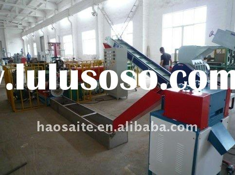 Double stage cool-cut granulating line
