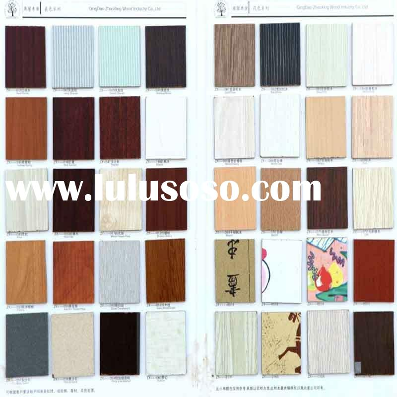 Melamine mdf panel in various colors eco friendly glue for for Mdf colors