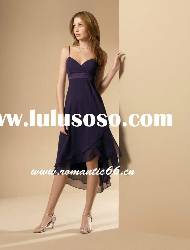 ED130 Free shipping short bridesmaid dresses