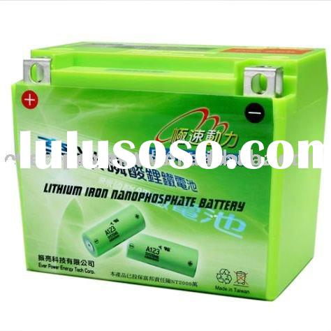 EPE4F2-BF 12V 4.6Ah LiFePO4 motorcycle battery pack