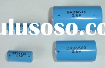 ER14335 2/3AA 3.6V lithium thionyl chloride battery non-rechargeable batteries