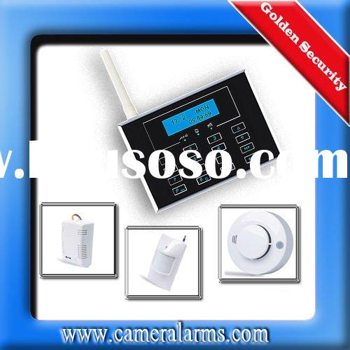 Easy Operation Touch Keypad & LCD Display Alarm Systems Burglarproof With Auto-Dialer