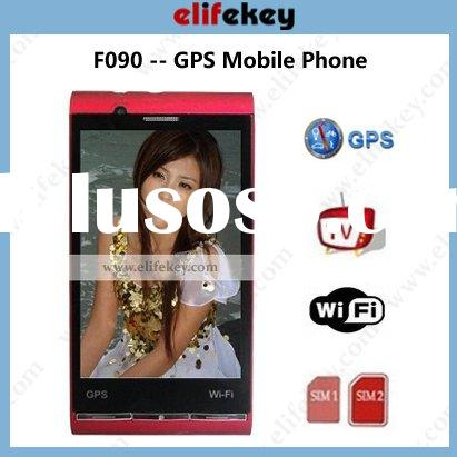 F090 Dual sim Wifi TV GPS unlock cell phones unlock card