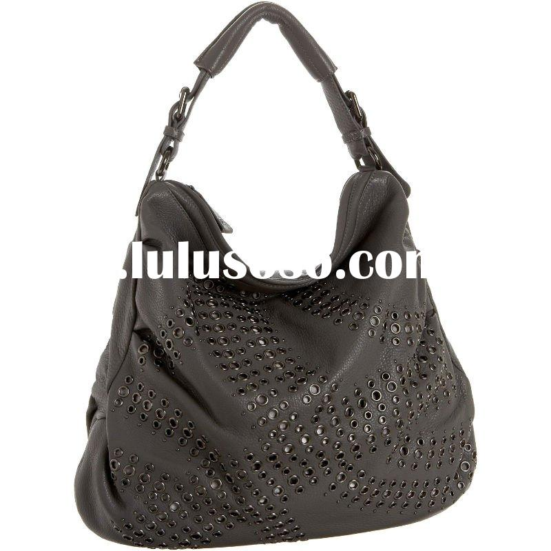 Fashion authentic designer brand leather shoulder bag