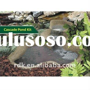 Fiberglass Reinforced Plastic Large Garden Pond Kit Outdoor Garden Water Features Decoration Large P