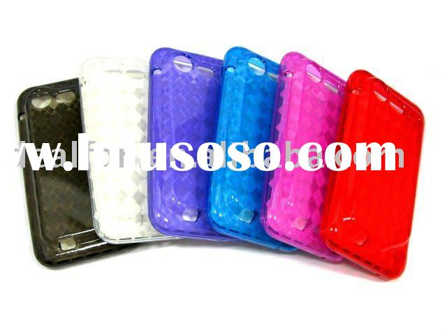 For HTC 6350(T130) HTC incredible 2 HTC incredible S TPU GEL HIGH QUALITY SILICONE CASE