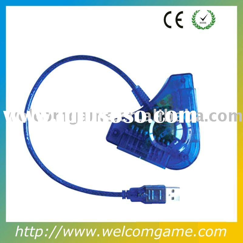 For PS1 PS2 To PC USB Game Controller Converter Adapter
