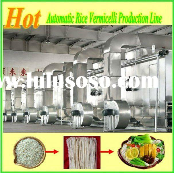 Full Automatic Stick Rice Noodle Making Machine / Full Autamatic Rice Vermicelli Making Machine