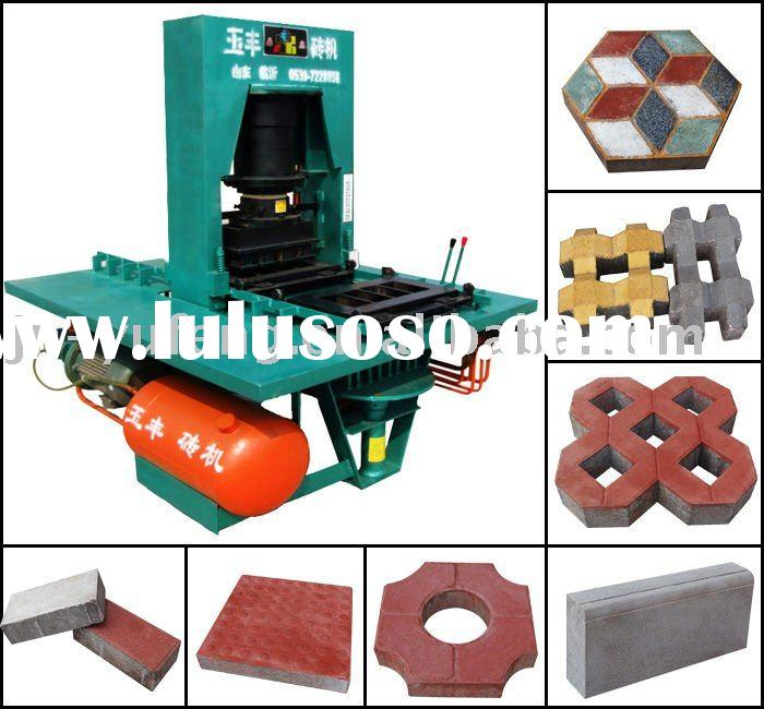 Full Hydraulic Paving Block Making Machine