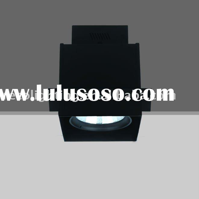 G12 HIT square TRIMLESS recessed metal halide down light fixture