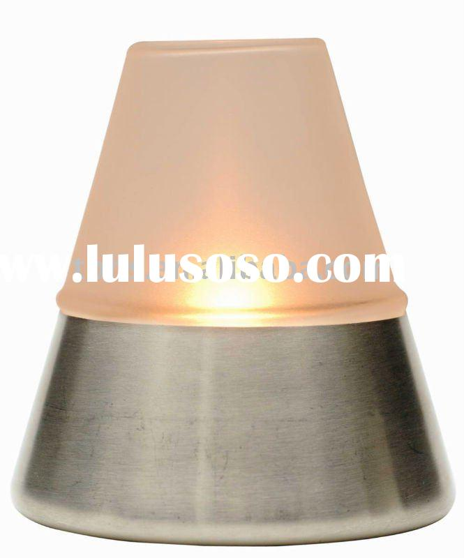 GIA Stainless base Oil Table Lamp