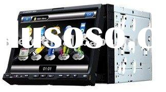 GPS DVD Players 2 Din 7 inch touch screen