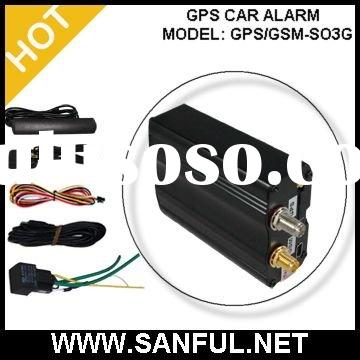 GPS GSM car alarm tracker